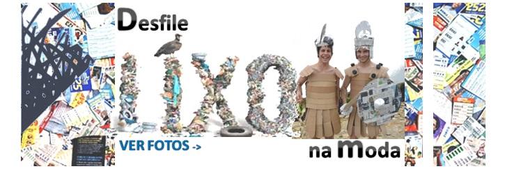 Desfile lixo na moda