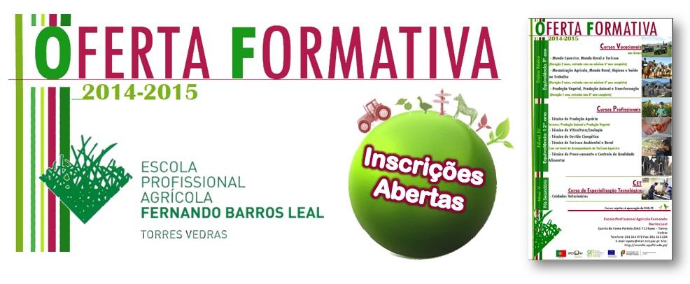 Oferta Formativa 2014_2015