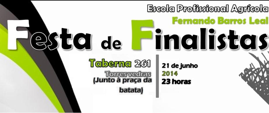 Festa de Finalistas 2014