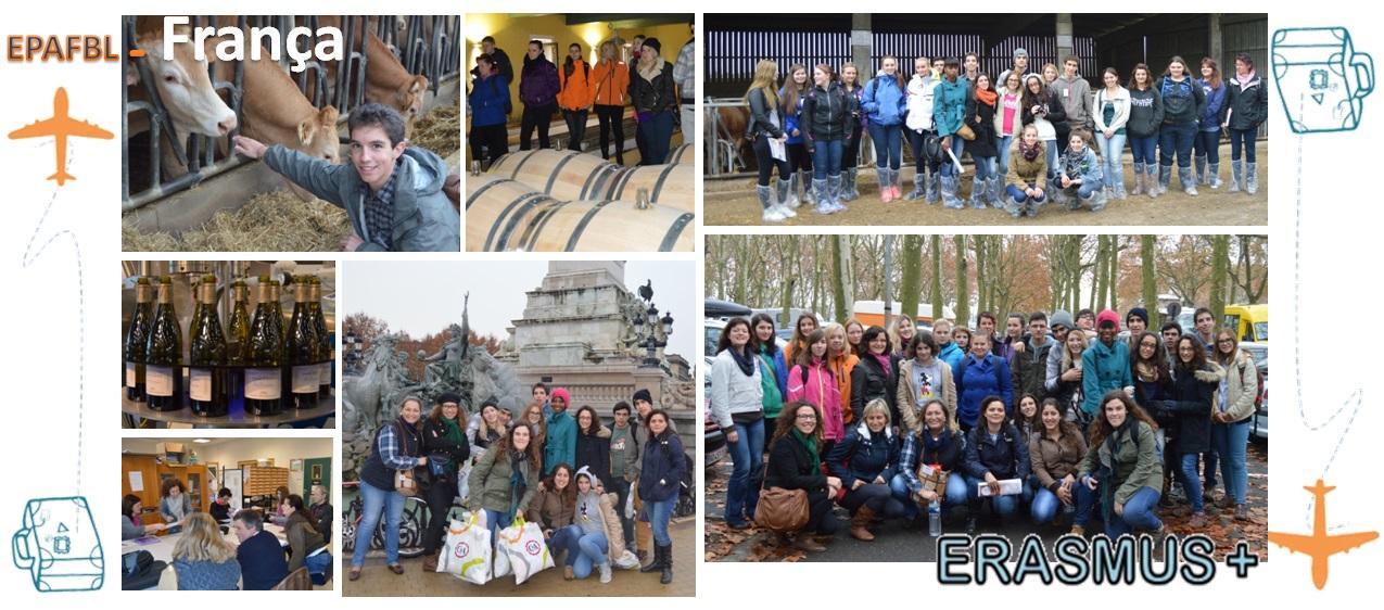 ERASMUS + epafbl França