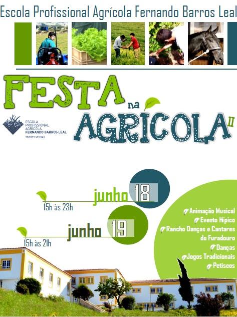 Festa na Agrícola II_Cartaz
