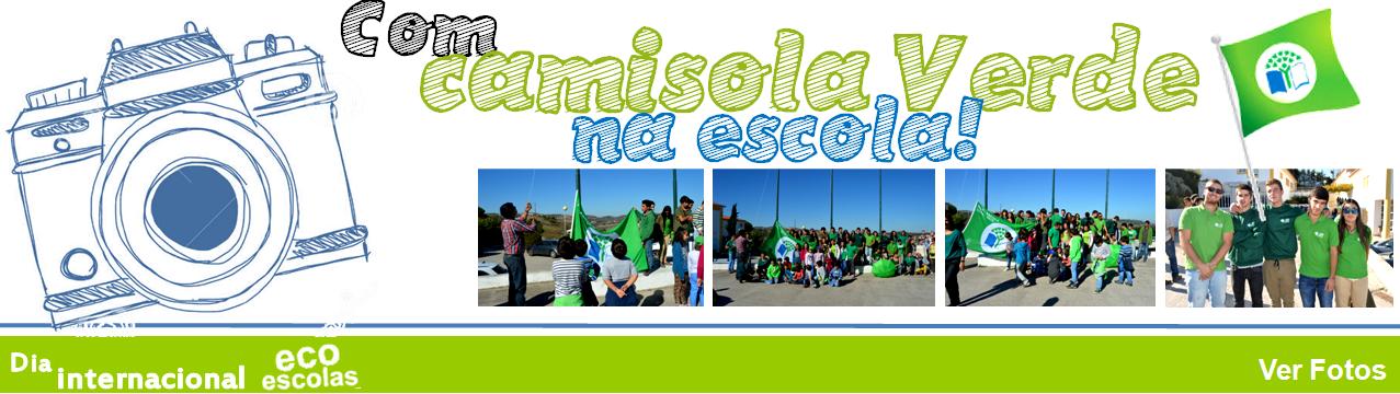 Fotos Dia Eco escola camisola verde
