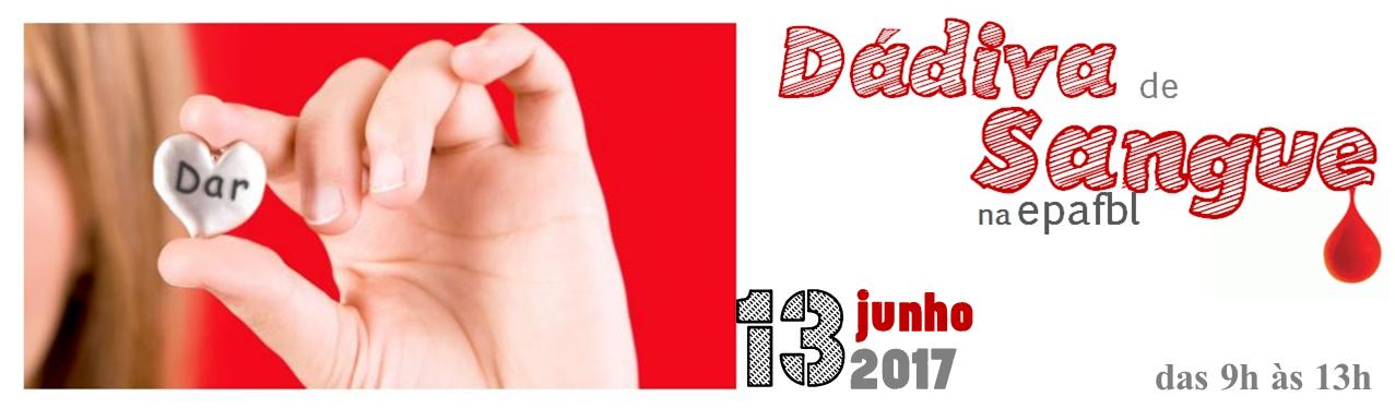 dádiva de sangue 2017