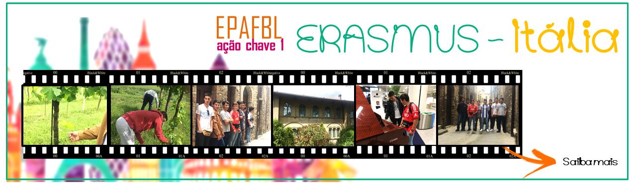 ERASMUS - Grupo em Itália