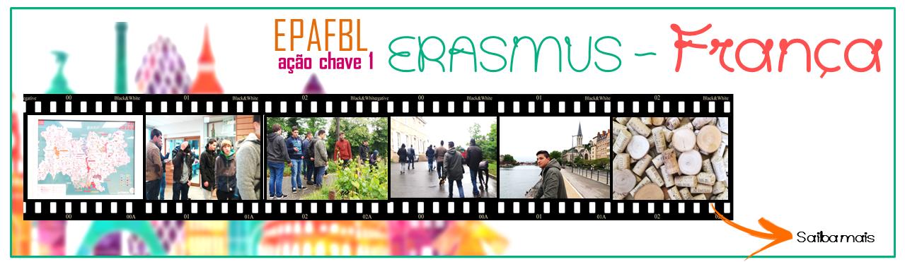 ERASMUS - Grupo em França