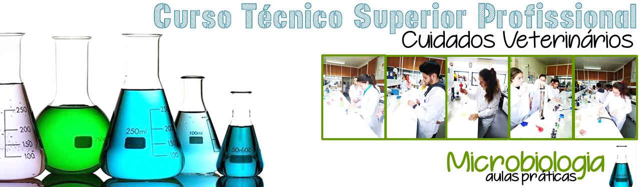 Aulas práticas Microbiologia curso TESP