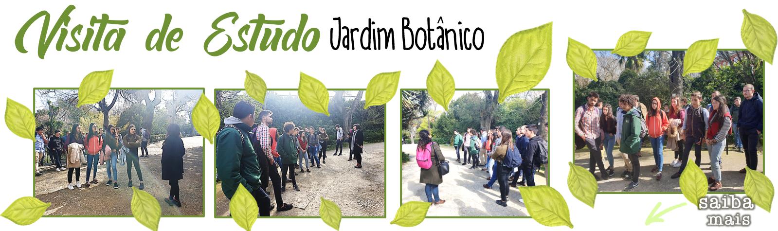 Visita de estudo ao jardim botânico